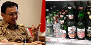 Ahok Buat Toko Khusus Miras, Didukung PKS DKI