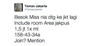 Cara Kerja Jasa Seks Online @TemanJakarta
