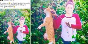 Dokter Hewan Cantik Pamer Panah Kucing di FB Dipecat