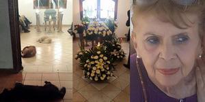 Kematian Nenek Baik Hati 'Ditangisi' Belasan Hewan Liar