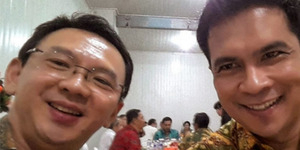 Krisna Mukti Foto Selfie Bareng Ahok