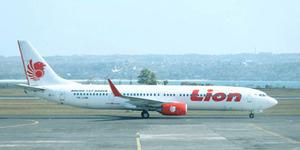 Mesin Pesawat Lion Air Terbakar di Bandara Kualanamu