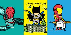 Pekerjaan Paruh Waktu Para Superhero