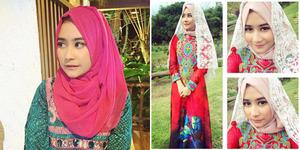 Prilly Latuconsina Cantik Berhijab Jelang Ramadhan