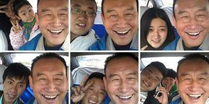 Rekor, Sopir Taksi Selfie Dengan 30 Ribu Penumpang