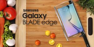 Samsung Rilis Pisau Pintar Galaxy Blade Edge