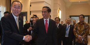 Tegas Dukung Palestina, Jokowi Desak Reformasi PBB