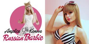 Angelica Kenova, Barbie Asal Rusia yang Hidup Menyedihkan