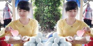 'Ayu Tenan', Penjual Pecel Cantik Bikin Netizen Naksir