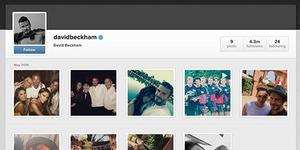 Baru Bikin Instagram, David Beckham Punya 4 Juta Follower