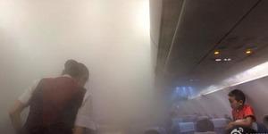Dikira Pesawat Kebakaran, Ternyata Cuma Uap AC