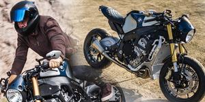 Foto Motor Keren BMW S1000R Milik Orlando Bloom