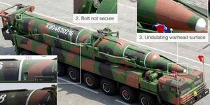 Foto Rudal Raksasa Korea Utara Ternyata Editan