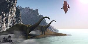 Ilmuwan: Manusia Minum Air Kencing Dinosaurus