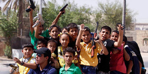 Irak Doktrin Bocah SD Tumpas ISIS Sejak Usia Dini