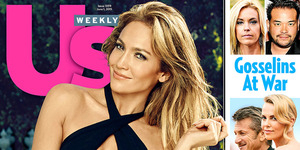 Jennifer Lopez Pakai Swimsuit Seksi di Majalah US