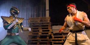 Keren! Duel Maut Power Ranger Hijau VS Ryu Street Fighter