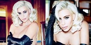 Kim Kardashian Bugil Bergaya Marilyn Monroe di Vogue Brasil
