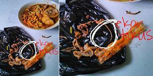 Menjijikkan Wanita Bandung Temukan Ekor Tikus di Mie Ayam