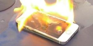 Pakai Charger Imitasi, iPhone 5S Meledak