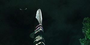 Penampakan UFO Berkilau di Vietnam