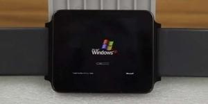 Pria ini Hadirkan Windows XP di LG G-Watch