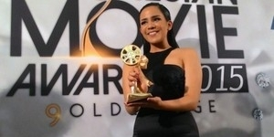 Tak Masuk Nominasi, Angel Pieters Menang Indonesian Movie Awards 2015