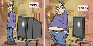 27 Ilustrasi Kocak Perbedaan Zaman Dulu & Sekarang