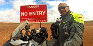 Bikers Bandung Jeffrey Polnaja Jelajah Dunia Taklukkan 5 Benua