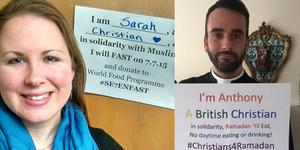 #Christians4Ramadan, Solidaritas Kristen Barat Ikut Puasa Ramadan