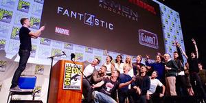 Foto Selfie Epik Deadpool, X-Men, & Fantastic Four di Comic Con