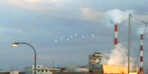 Kawanan UFO Serbu Pelabuhan Jepang