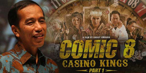 Jokowi Nonton Comic 8: Casino Kings