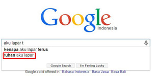 Saran Kocak Pencarian Kata Google Search
