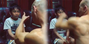 Video Azka 'Dipukul' Deddy Corbuzier
