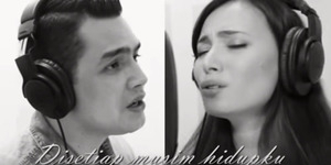 Asmirandah-Jonas Rivanno Nyanyi Lagu Rohani 'Yesus Aku Cinta'