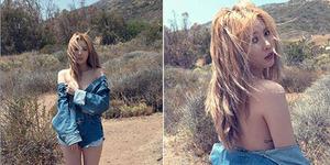 Foto Seksi HyunA 4Minute di Album A+