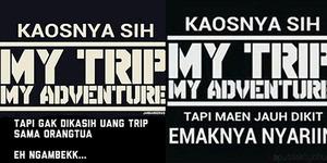 Meme Kocak Kaos Traveling
