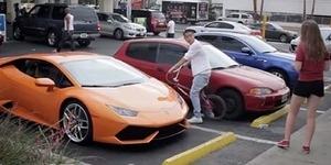 Pria Ini 'Beri Pelajaran' Cewek Matre Pakai Lamborghini