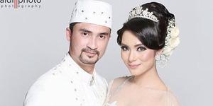Reza Pahlevi Menikah dengan Ika Nico Vokalis Tqla