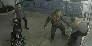 6 Oknum TNI Aceh Terekam CCTV Keroyok Briptu Nanda