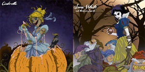 Animator Jeffrey Thomas Sulap Wajah Cantik Putri Disney Jadi Seram