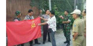 Bule Rusia Kibarkan Bendera PKI di Bali Dicokok Polisi