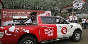 Demi Mimpi Indonesia, Pemerintah Rilis Mobil Kapsul Waktu
