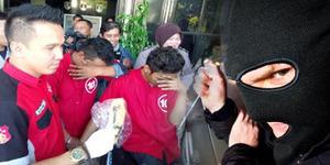 Polisi Jaksel Berhasil Tangkap Kawanan Pencuri 'Jubah Hitam'