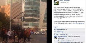 Siaran di Trotoar, TV ONE Dituding Merampas Hak Pejalan Kaki