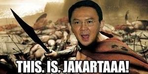 Solusi Kocak Ahok 'This is Sparta' Hebohkan Netizen