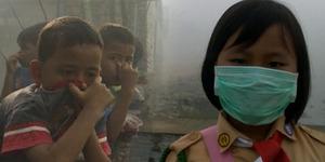 Pemerintah Kaji Kompensasi Korban Kabut Asap Rp 900 Ribu
