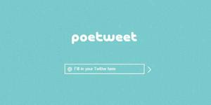 'Poetweet' Situs Pengubah Twitter Jadi Puisi