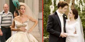 10 Desain Gaun Pengantin Terbaik Di Film Hollywood